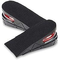 JHKJ 2-Schicht Unsichtbar Air Up Höhe Erhöhen Aufzug Schuhe Einlegesohle Lift Kit - 5 cm Heels Einsätze Für Männer... preisvergleich bei billige-tabletten.eu