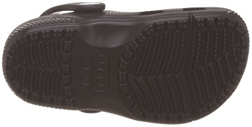 Crocs 204094, Sabots Mixte Enfant Black