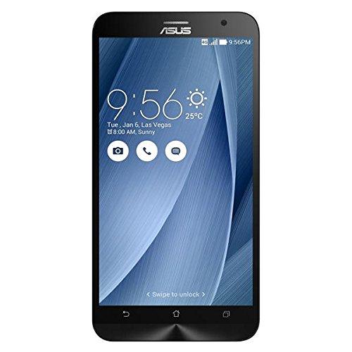 Preisvergleich Produktbild Asus ZenFone 2 ZE551ML Smartphone (14 cm (5,5 Zoll) FullHd Display, Intel Atom Z3580, 4GB Arbeitsspeicher, 32 GB Speicher, Android 5.0) silber