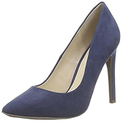 Another Pair of Shoes ParizE1, Women's Heeled Shoes, Blue (Denim blue675), 3 UK