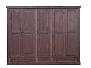 kleiderschrank rico kolonialstil 5t rig k che haushalt. Black Bedroom Furniture Sets. Home Design Ideas