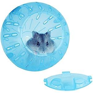 Easylifer Hamster Laufball Small Transparent Ball Spielzeug für Hamster, Mäusen