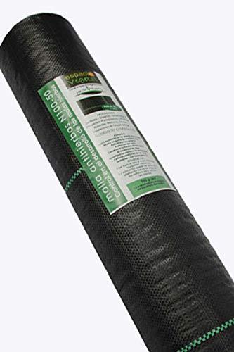 1/x 8/m x 1.5/m 50/g//m/² contr/ôle des mauvaises herbes et la pr/évention des Rouleau de tissu allonger de jardin