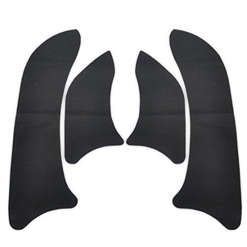 Carbon Fiber Door Plank Schutzmaßnahmen Anti Kick Film Aufkleber für CHEVROLET CRUZE 2008-2015 (2010-autoaufkleber)