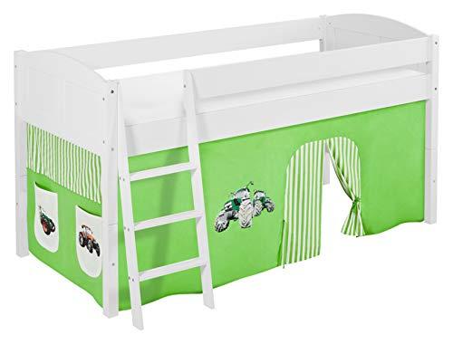 Etagenbett Hochbett Spielbett Kinderbett Jelle 90x200cm Vorhang : ᐅᐅ】 taschen fuer hochbett spielbett und etagenbett trecker