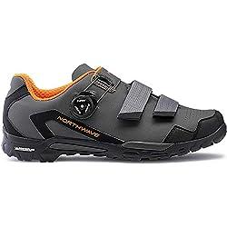 Northwave Outcross 2 Plus Chaussures VTT Gris/Orange, Taille:GR. 48