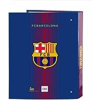 Futbol Club Barcelona - Carpeta folio 4 anillas lomo ancho (Safta 511729657)