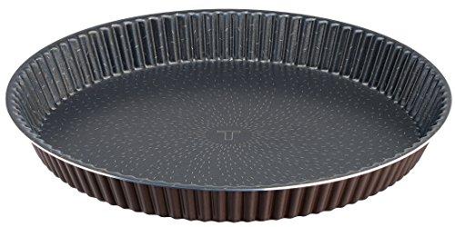 Tefal J1608402 Success Moule à Tarte Aluminium Brun 30 cm