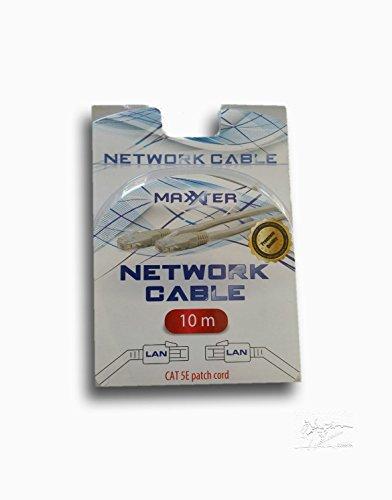 Premium 10m CAT.5e Ethernet LAN Gigabit Netzwerkkabel Patch Kabel geflechtgeschirmt, SFTP doppelt geschirmt , Screened Foiled Twisted Pair, 1000 Mbit/s) DSL Verbindungen , Patchfelder , Patchpanel , Router , Modem , Access Point und andere Geräte Kabel CAT5 geschirmtes Patchkabel