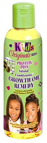 Africa's Best Kids Organics Groth Huile-Remedy de croissance capillaire pour enfant - Enrichie en Keratine et Proteines - 235 ml
