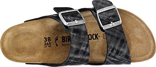 Birkenstock , Spartiates femme Shiny Check Black