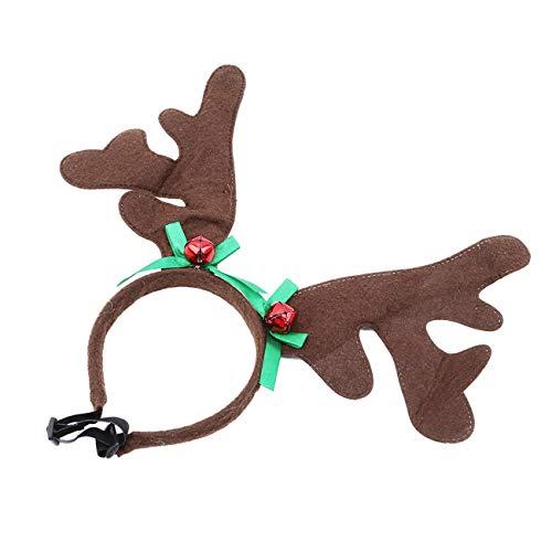 Bigsweety Haustier Geweih Stirnband Urlaub Weihnachten Halloween Kostüm Für Hunde Katzen Haarschmuck (# 1)