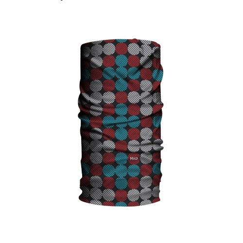 HAD Erwachsene Tücher und Schal Originals Urban Dot, Rot, One size, 24-HA1100223