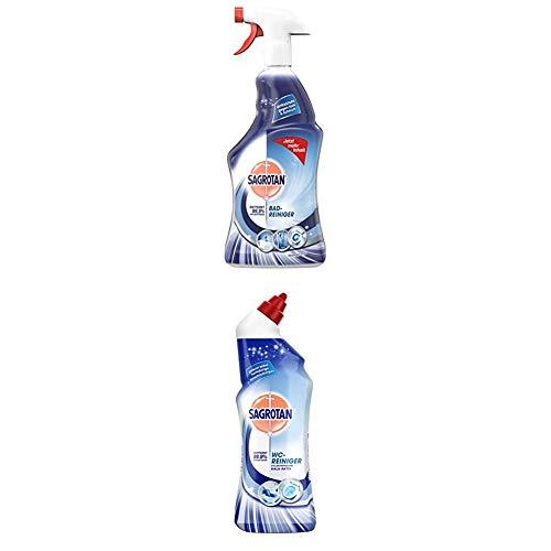 Sagrotan Bad-Reiniger Atlantikfrische, Reinigung, 3er Pack (3 x 750 ml) + WC-Reiniger Atlantikfrische, Reinigung, 3er Pack (3 x 750 ml)