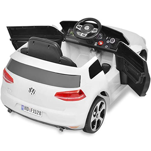 RC Auto kaufen Kinderauto Bild 5: Kinderfahrzeuge Kinderauto Elektroauto VW Golf GTI 7 weiß 12 V Mit Fernbedienung Elektrofahrzeuge*