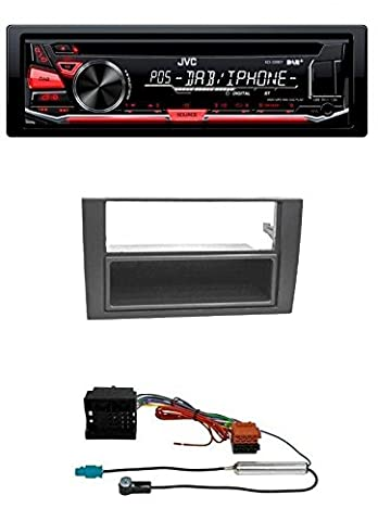 JVC KD-DB67E CD USB MP3 AUX DAB Autoradio für Audi