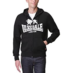 Lonsdale Sudadera negro XL (L UK)