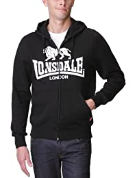 661eac9503b6 Lonsdale Herren Sweatshirt Sweatshirt Slim Fit Hooded Zip Krafty