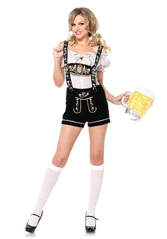 Leg Avenue Edelweiss Lederhosen Costume - 85221 (Women: