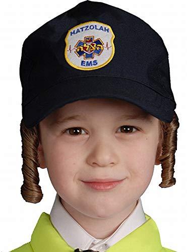 Hatzolah Kostüm - Dress Up America 457-K Kinder Hatzolah Hut-Kostüm Zubehör, Einheitsgröße