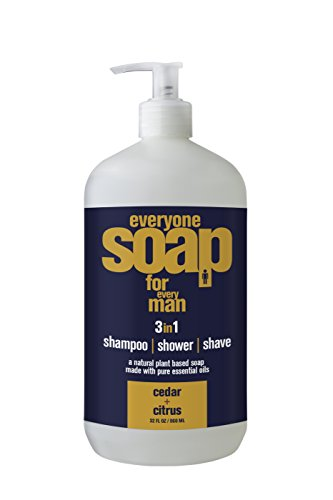 Eo Products Everyone Soap For Men, Cedar And Citrus, 32 Ounce