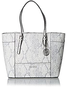Guess Delaney Medium Classic Tote PN453523 Damentasche 43x29x14cm python