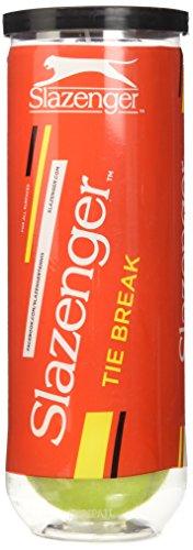 Slazenger Tiebreak Bälle-Gelb, Größe 3