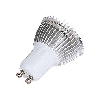 Teepao LED-Wachstumsleuchte, Vollspektrum, Hohe Leuchtkraft und geringer Stromverbrauch – Pflanzen-Wachstumsleuchte Gewächshaus Garten Innenpflanzen (28 W, 28 LEDs, E27), 1 Stück, GU10 1Pack