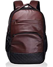 F Gear Luxur 25 Ltrs Brown Laptop Backpack (2404)