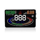 ZHUOYUE E300 HUD OBD2 Head Up Display Auto Geschwindigkeit Projektor OBD EU MPH KM/H Digitaler Auto Tachometer auf Windschutzscheibe Projektor