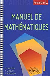 Manuel de mathématiques pour 1ère L