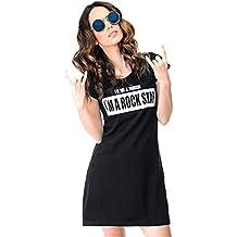 BBsmile Vestido de niña,Venta caliente 2018 vestidos de la muchacha Negro linda de la historieta