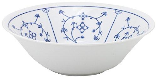 Kahla - Porcelaine pour les Sens 462903A75019H Saks Tradition Plat de Service Bleu/Blanc 21 cm