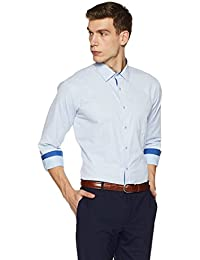 Symbol Amazon Brand Men's Regular Fit Formal Shirt