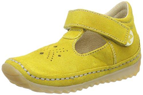 Naturino Unisex-Kinder Doki Lauflernschuhe Gelb (VELOUR GIALLO)