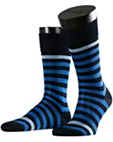 FALKE Herren Socken Maritime Stripe