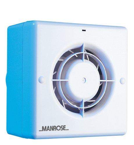 Manrose CF100T - Extractor para baño (incluye ventilador con temporizador, para conductos...