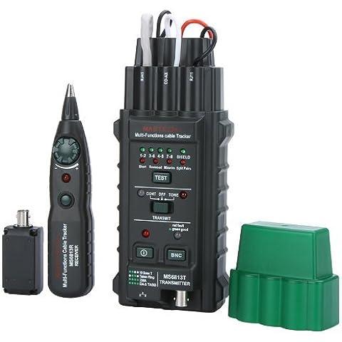 MASTECH MS6813 Network Cable / Telefonica Linea Probador Detector Rastreador BNC RJ45 RJ11