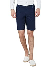 Hammock Men's Solid Chino Shorts - Dark Blue
