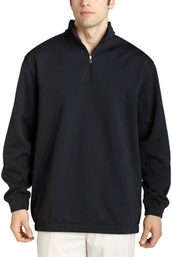 Nike Herren Therma-Fit blockiert 1/2Zip Pullover, Herren, schwarz / weiß Preisvergleich