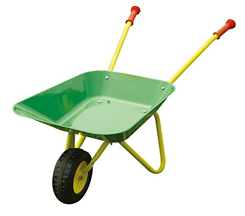 knorrtoys-56005-metal-brouette-keen-enfants-outils-de-jardin