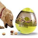 CITTATREND City Futterspender für Hunde, Futterkugel, Kroketten, für Welpen, Katzen, Tiere, Grün