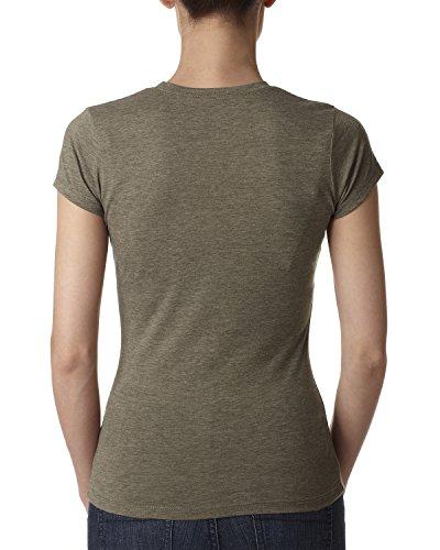 Next Level Damen T-Shirt Salbeigrün