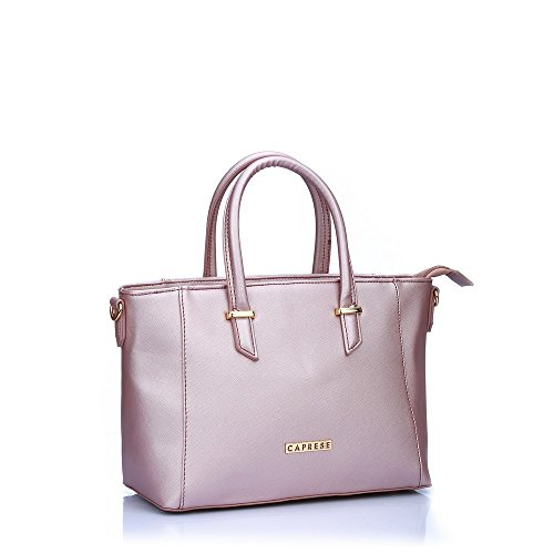Caprese Porsche Women's Tote Bag (Metallic Pink)