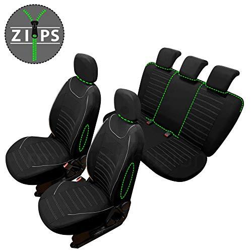 rmg-distribuzione Coprisedili SPECIFICI per ix20 Versione (2010 - in Poi) compatibili con sedili con airbag, bracciolo Laterale, sedili Posteriori sdoppiabili R60S0291