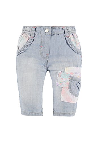 Kanz Mädchen, Jeanshose, Hose Jeans, Blau (blue Denim 0013), 74
