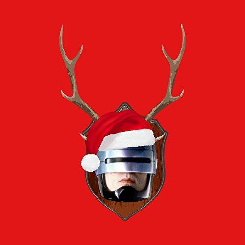 RoboCop Christmas Antler Head Men's Vest Red