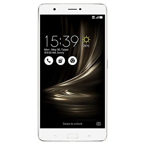 ASUS Smartphone Zenfone 3 Ultra, entsperrt 4G, Display: 6,8 Zoll, 64 GB, Dual SIM, Android 6.0 Marshmallow (Smartphone Asus 6)