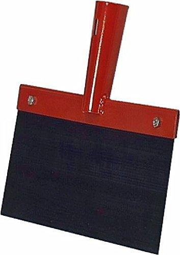 Federstahl Stoßscharre ohne Stiel 300 x 1,0mm