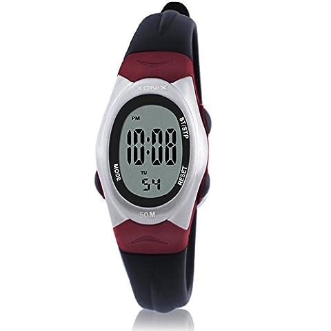 Europäische und amerikanische retroLEDWasserdichte digitale Uhren/Multifunktionale elektronische Uhren für